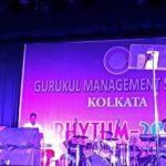 Rhythm-2016 at Gurukul management Studies