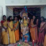 saraswati puja at Gurukul management Studies Bhatpara