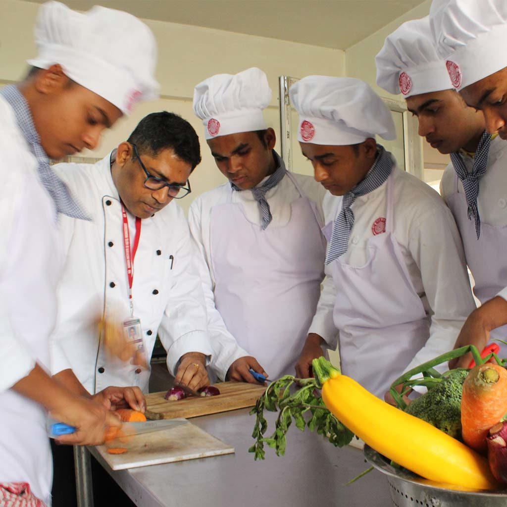 Gurukul Hotel Management Practical Class